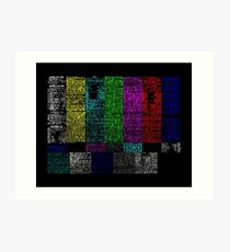 there's a reason it's called programming Art Print