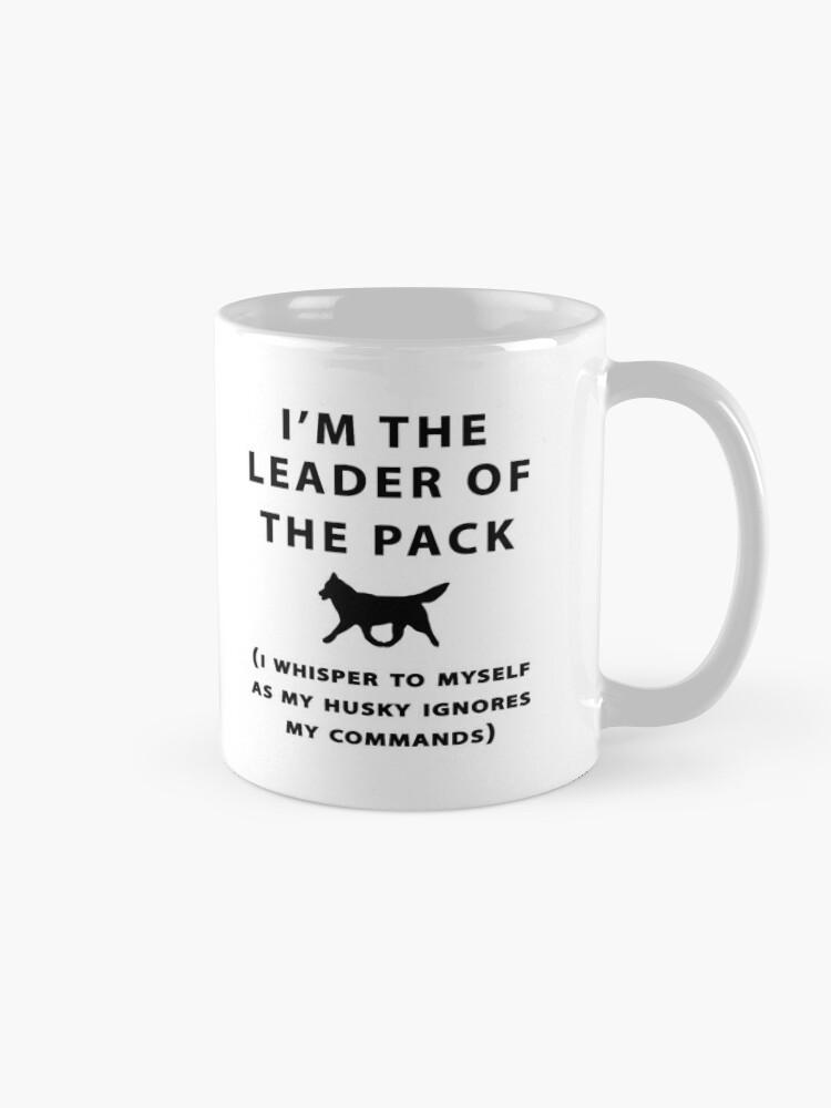 Alternate view of Leader of the Pack Mug