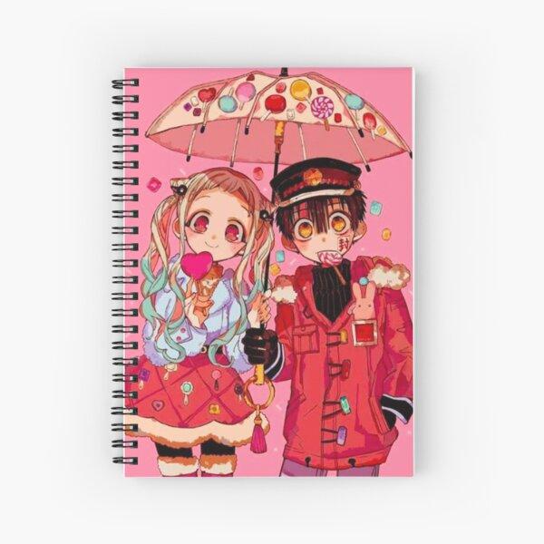hanako kun and yashiro nene Spiral Notebook