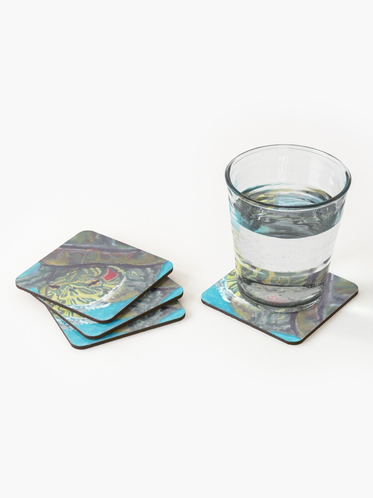 Alternate view of Red Eared Slider Coasters (Set of 4)