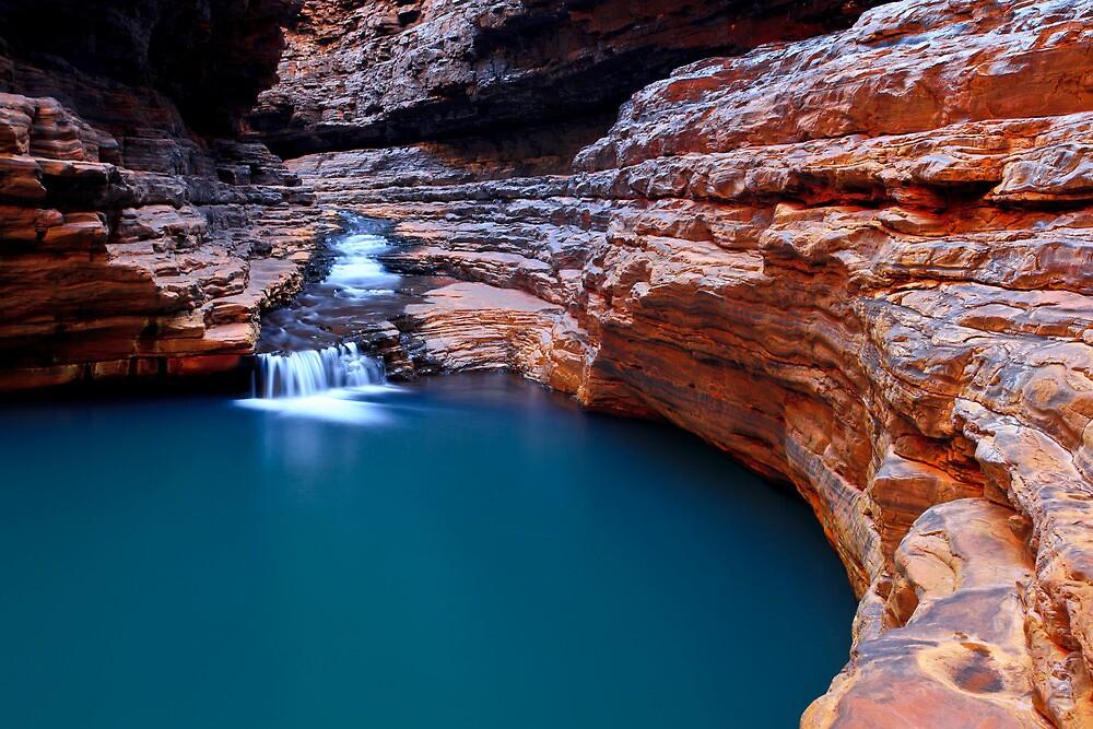 The Sanctuary - Kermits Pool - Hancock Gorge - Karijini NP by Matt  Streatfeild