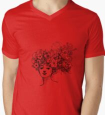 Secret Garden Mens V-Neck T-Shirt