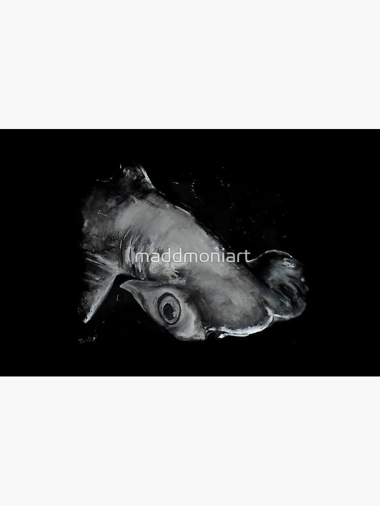 Hammerhead Shark Painting by maddmoniart