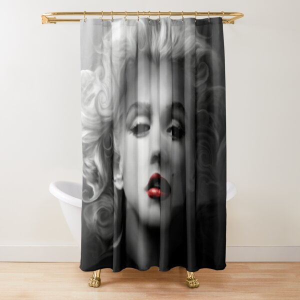 Marilyn Monroe, Art Shower Curtain