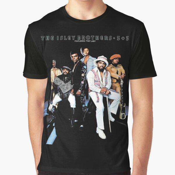 Isley Brothers - 3 + 3 (album) Graphic T-Shirt