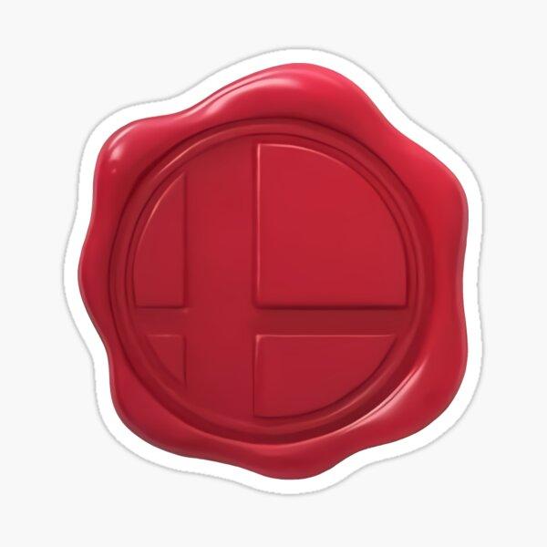 Smash Ultimate Invitation Seal Sticker