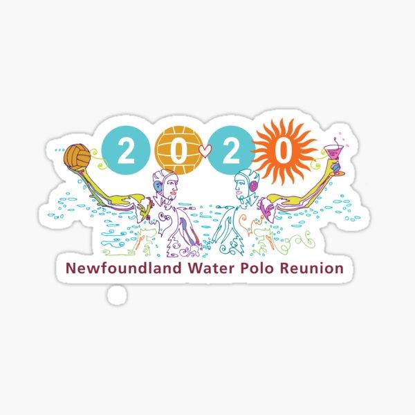 Newfoundland Water Polo Reunion  Sticker