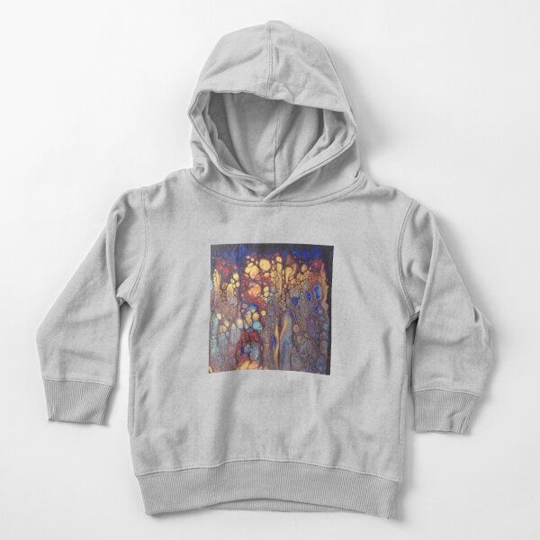 Cellular Explosion Toddler Pullover Hoodie