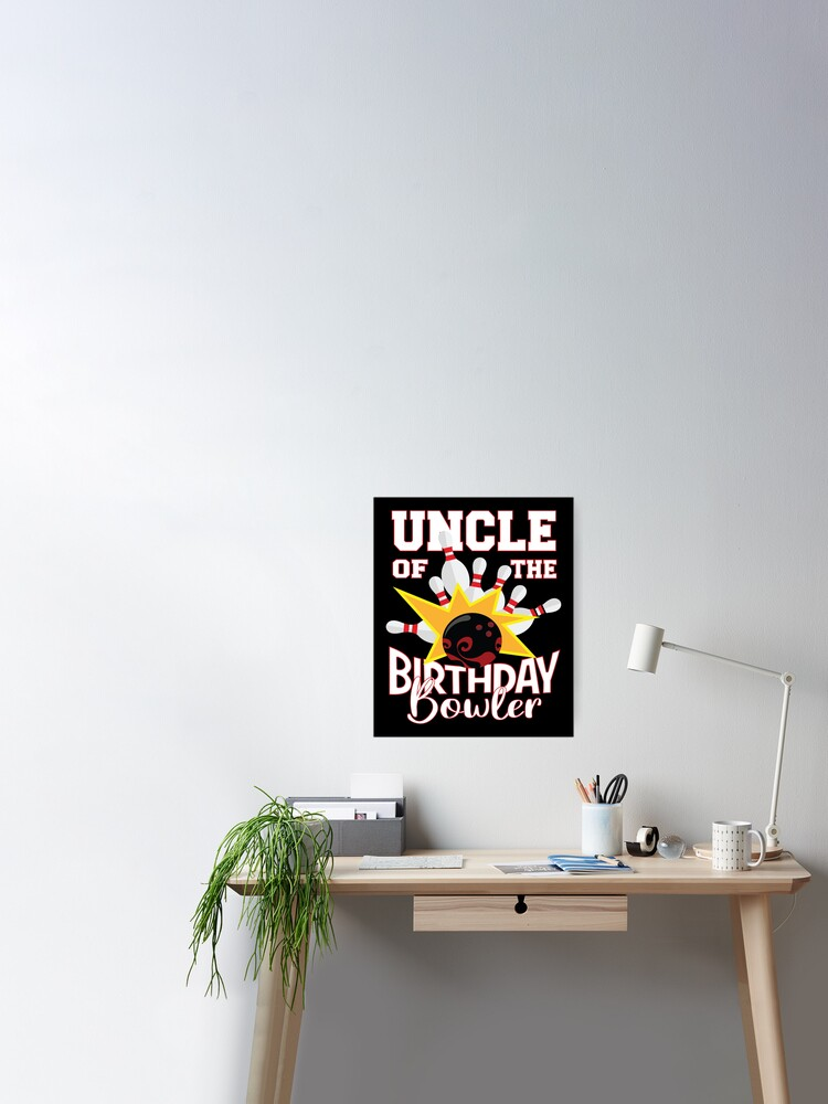 Aunt Of The Birthday Bowler Kid Bowling Party design