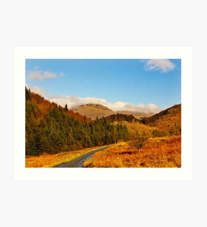 Duddon Valley Autumn Art Print