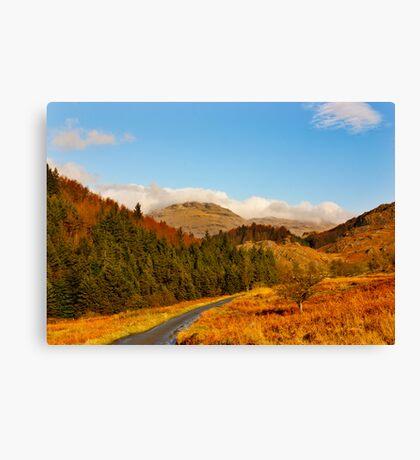Duddon Valley Autumn Canvas Print