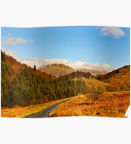Duddon Valley Autumn Poster