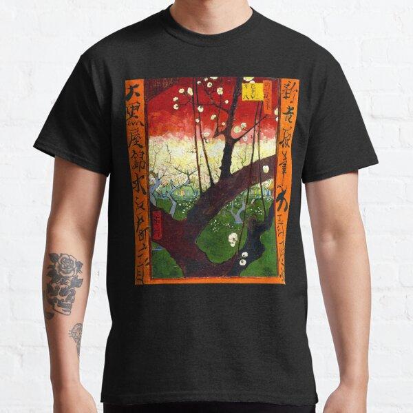 Van Gogh - Flowering Plum Orchard, after Hiroshige Classic T-Shirt