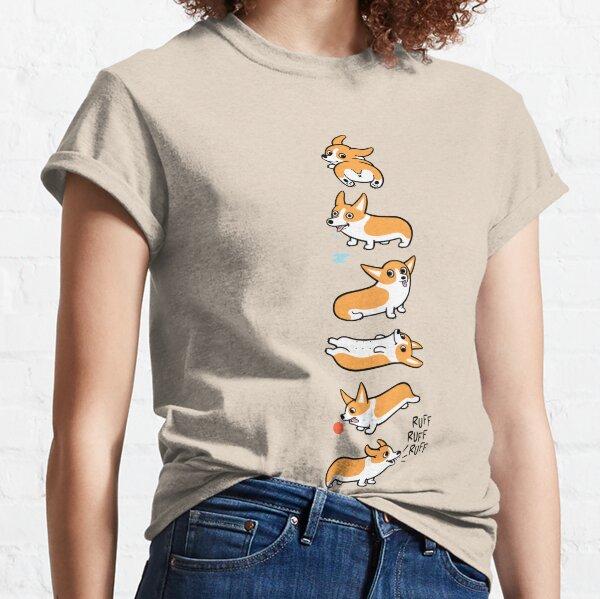 Cutie Corgis Camiseta clásica