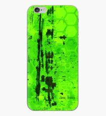 Rusty sci-fi green iPhone Case
