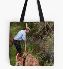 Mink Hunting Tote Bag