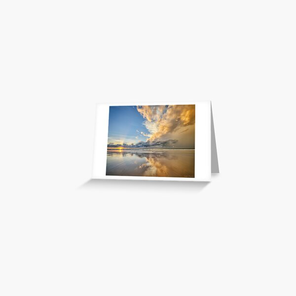 Sunset Spectacular Greeting Card