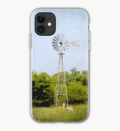 Texas Windmill - iPhone Case iPhone Case