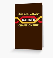 1984 All Valley Championship Greeting Card
