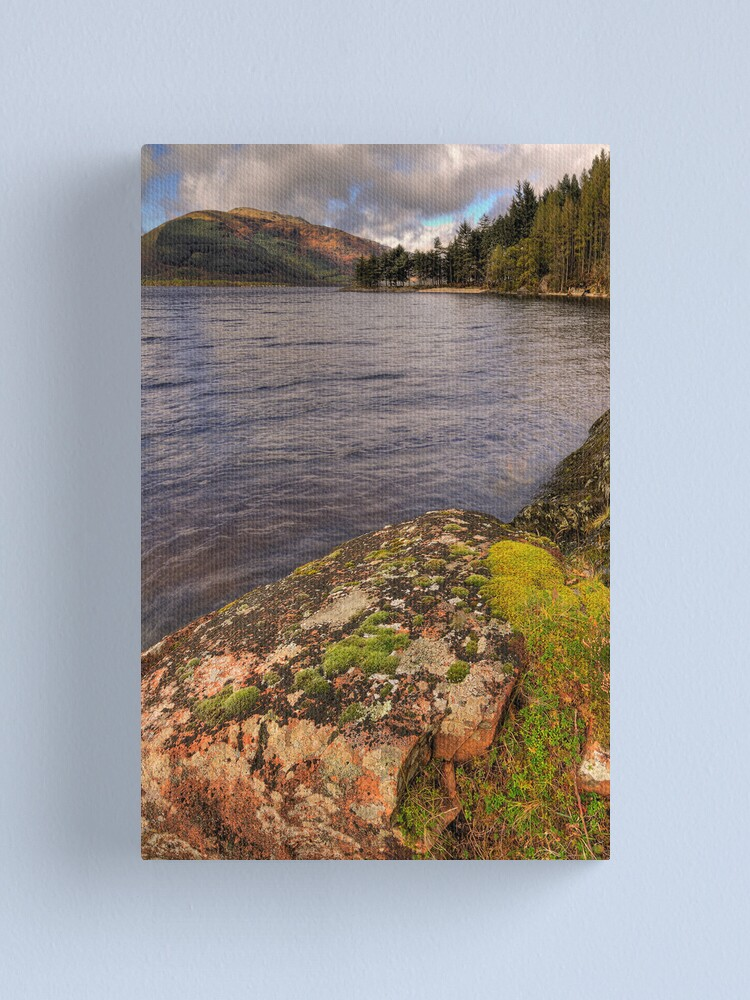Alternate view of Lomond Rocks Canvas Print