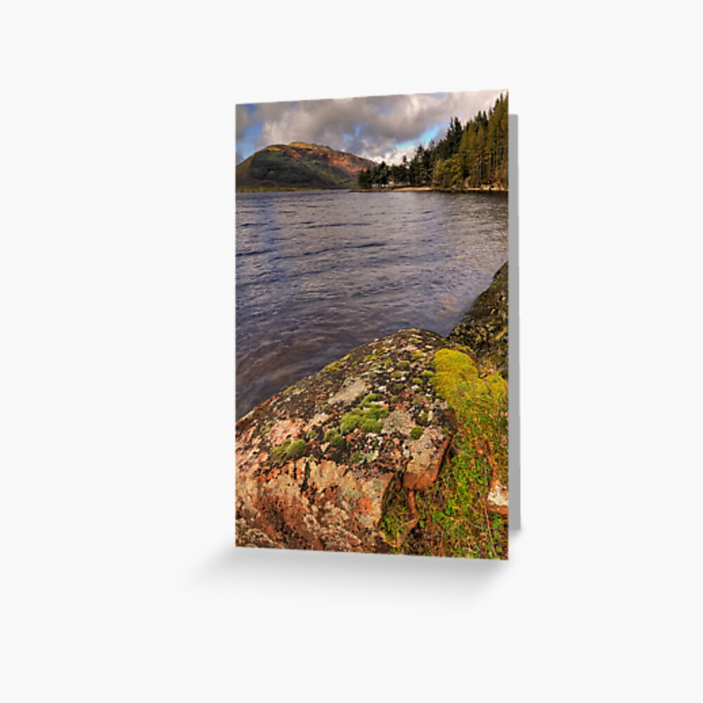 Lomond Rocks Greeting Card