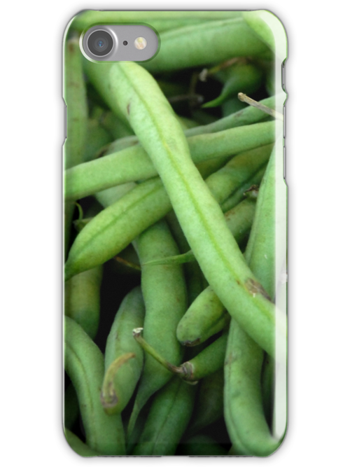 Green Beans - iPhone Case by Colleen Drew