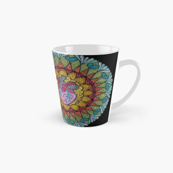 Centre of the Universe: Prints with black background Tall Mug