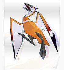 Golden Moa - Guild Wars Poster
