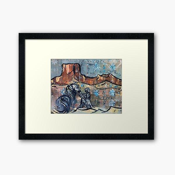 Desert Dream Framed Art Print