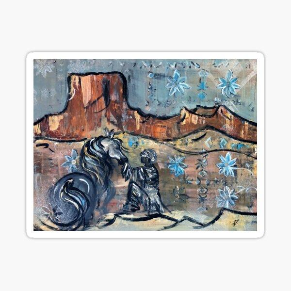 Desert Dream Sticker