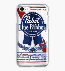 Pabst Blue Ribbon Can iPhone Case/Skin