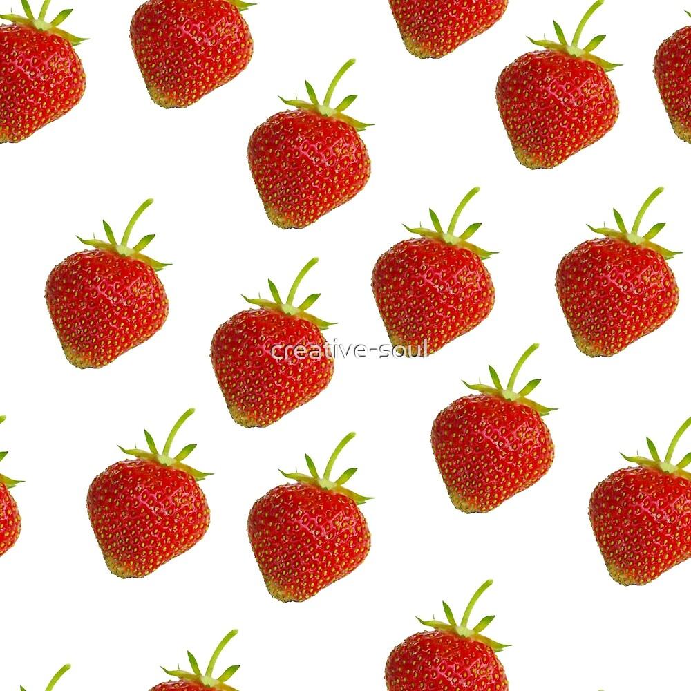 Strawberries by Olga Strogonova