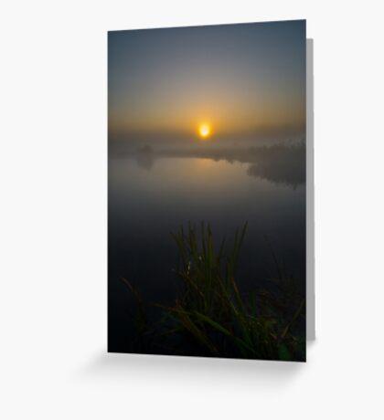 Misty Dawn 5.0 Greeting Card