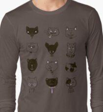 Set of cats heads T-Shirt