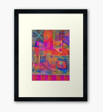 Some of Us DREAM in Color Framed Print
