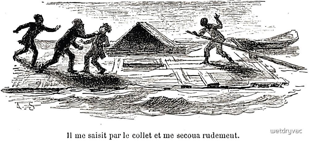 Achille Sirouy Mark Twain Les Aventures de Huck Huckleberry Finn illustration p202 by wetdryvac