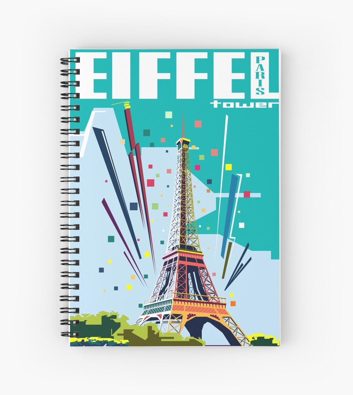 Eiffel Tower by SymbiosisArt
