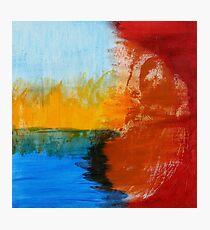 earth. air. fire. water. buddha. Photographic Print