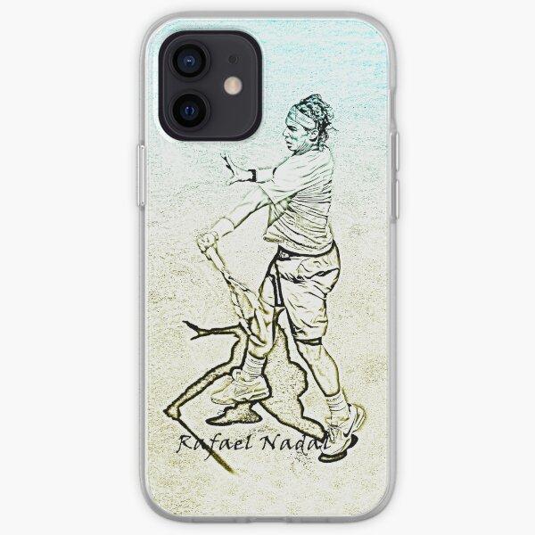 Rafa Nadal (stylized) iPhone Soft Case