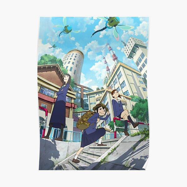 Eizouken - Tsubame / Asakusa / Sayaka Poster