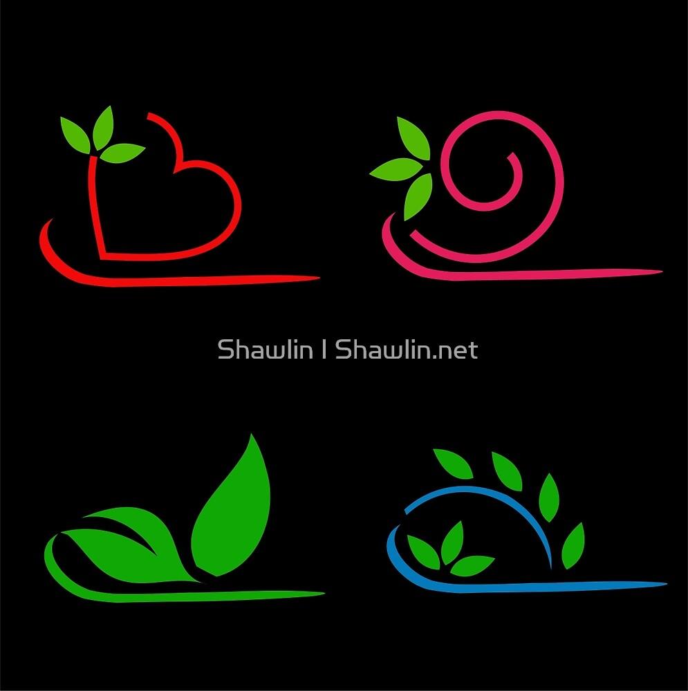 Floral artwork by Shawlin Mohd