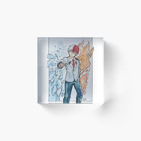 Todoroki Kun! Acrylic Block