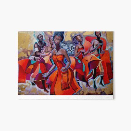 Khosa Dances Art Board Print