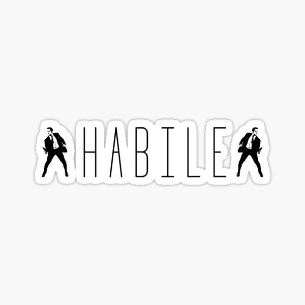 """""""Habile"""" OSS 117 Sticker"""