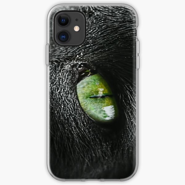 Cats eye iPhone Soft Case
