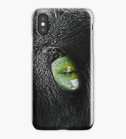 Cats eye iPhone Case