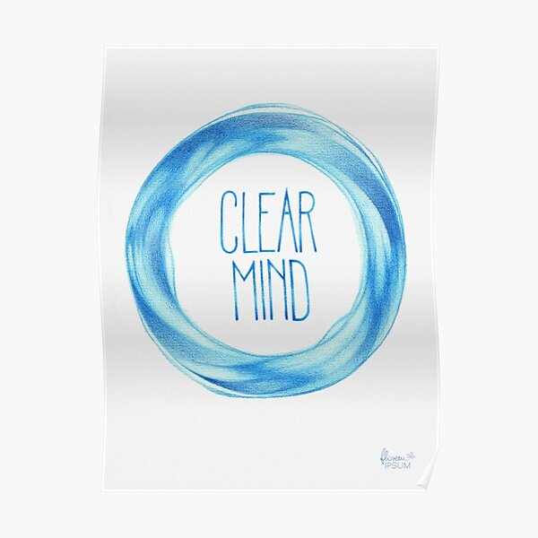 Clear Mind  Poster