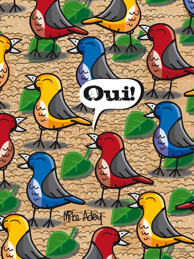 """""""The Birds of Jardin du Luxembourg"""" (2010) by mike372"""