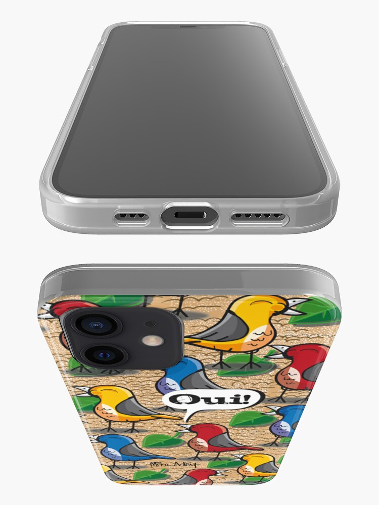 """Alternate view of """"The Birds of Jardin du Luxembourg"""" (2010) iPhone Case & Cover"""