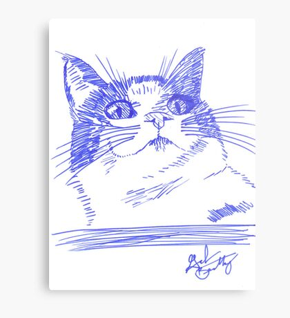 Chester the Cat Metal Print